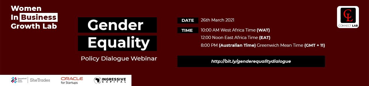 Gender Equality Policy Dialogue Webinar