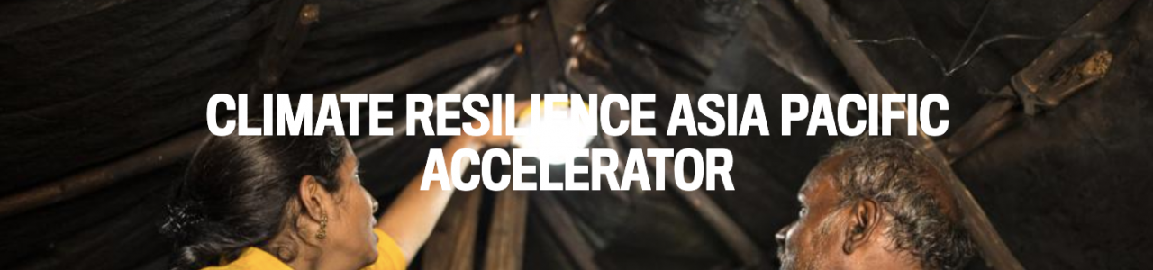 Climate Resilience Asia Pacific Accelerator
