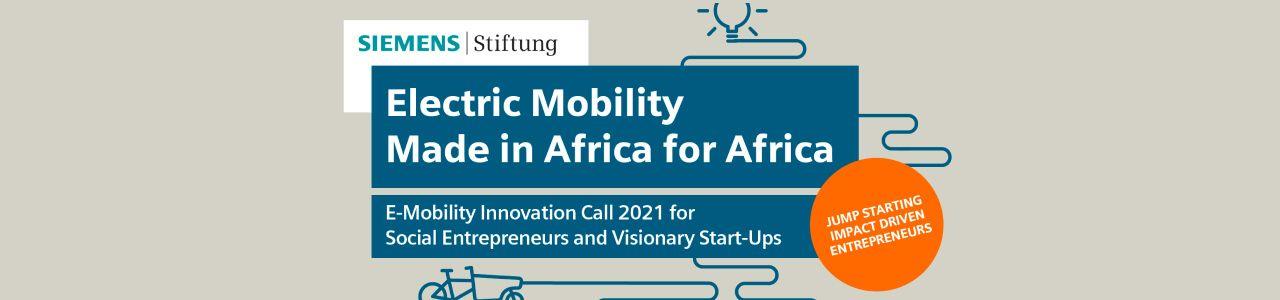 E-Mobility Innovation Call 2021
