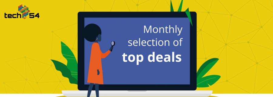 Tech 54 – March's selection of deals