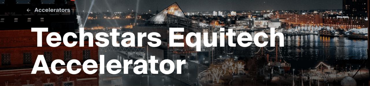 Techstars Equitech Accelerator