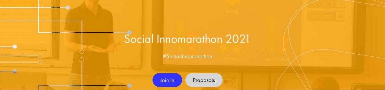 Webinar – #Socialinnomarathon2021